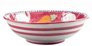 Vietri Campagna Porco Lg Serving Bowl $134.00