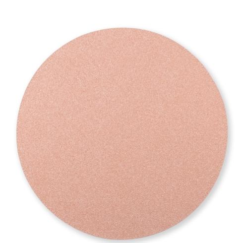 $23.00 Rose Gold/Sand Round Placemat