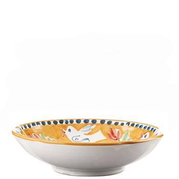 VIETRI Campagna Uccello Coupe Pasta Bowl $40.00