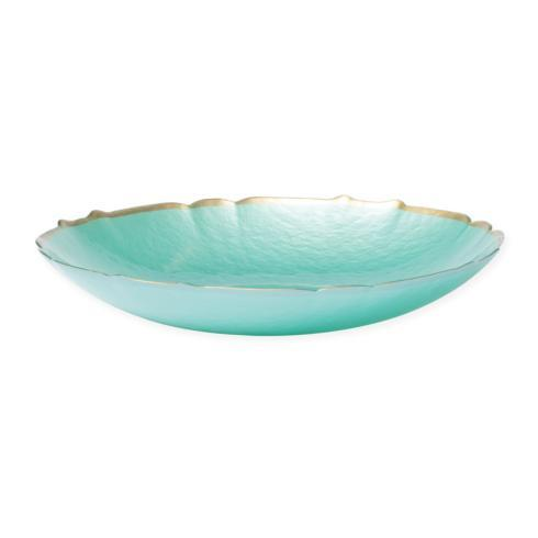 $53.00 Aqua Medium Bowl