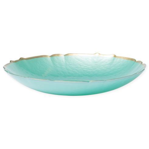$60.00 Aqua Large Bowl