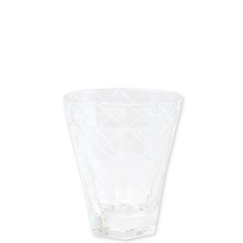 $12.00 Clear Short Tumbler