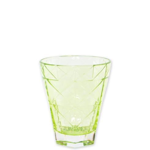 Viva by Vietri  Viva Prism Green Short Tumbler $12.00