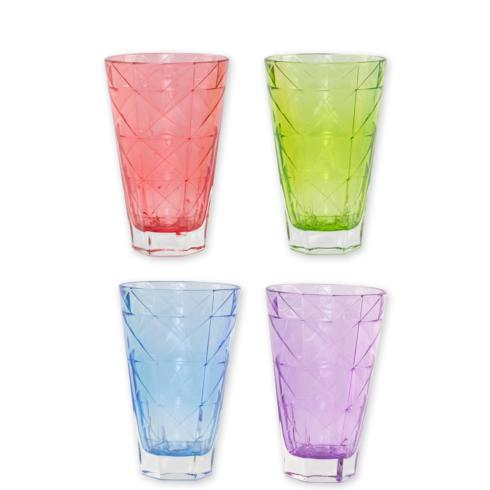 $61.00 Assorted Tall Tumblers - Set of 4