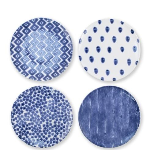 $80.00 Assorted Dinner Plates - Set of 4
