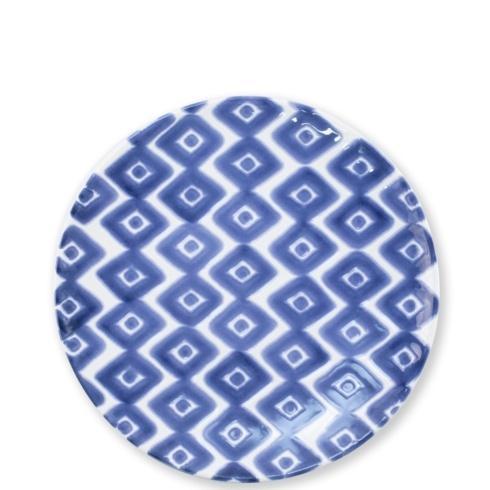 Viva by Vietri  Viva Santorini Diamond Salad Plate $18.00