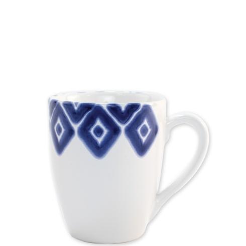 Viva by Vietri  Viva Santorini Diamond Mug $18.00