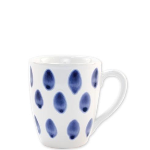 Viva by Vietri  Viva Santorini Dot Mug $18.00