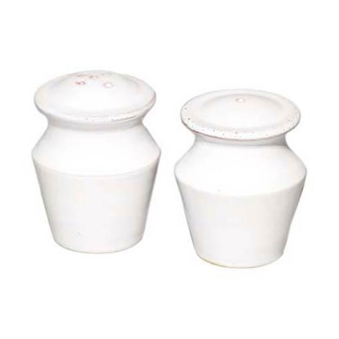 VIETRI Bianco White Salt & Pepper-2 $55.00