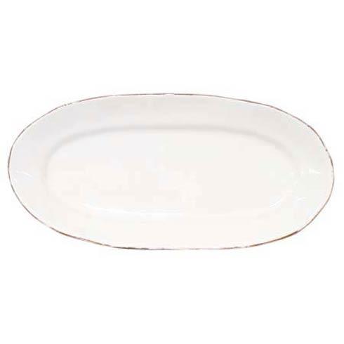 Vietri Bianco White Sm Oval Platter-1 $84.00