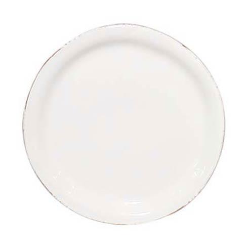 Vietri Bianco White Dinner Plate $36.00