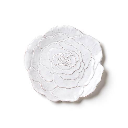 Vietri Bellezza Bloom White Rose Salad Plate $34.00