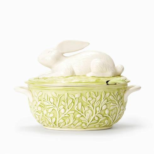 Bunny Soup Tureen With Ladle image