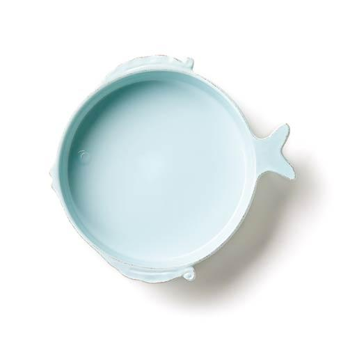 $91.00 Aqua Medium Serving Bowl