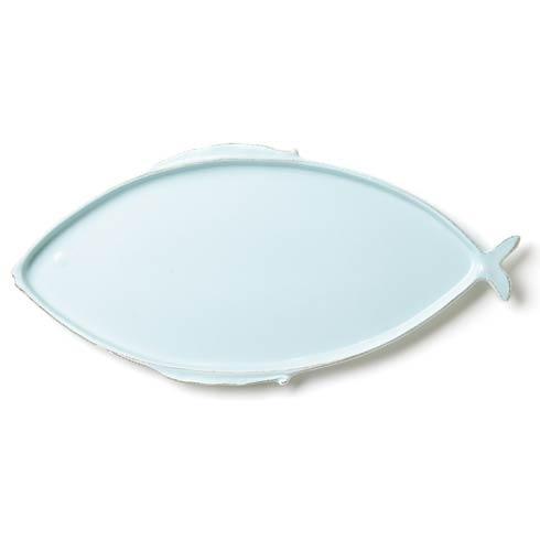 $138.00 Aqua Large Oval Platter