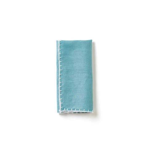 Vietri  Whipstitch Aqua Napkin $22.00