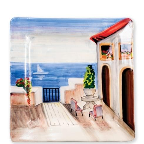 Seaside Villa Square Wall Plate