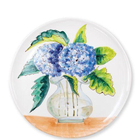$148.00 Hydrangea Round Platter