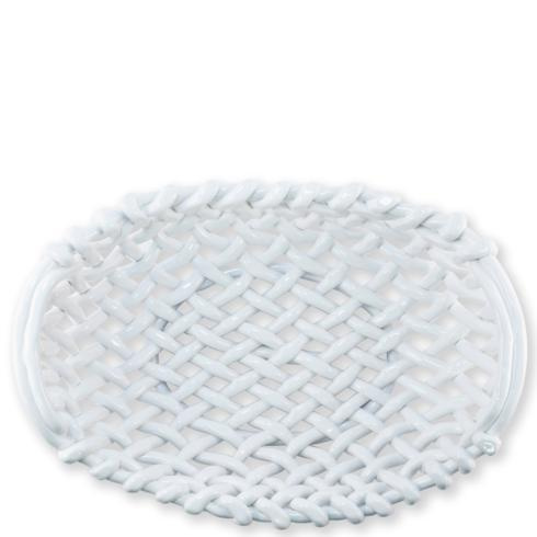 $348.00 White Large Basket