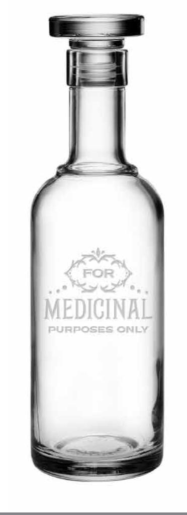 For Medicinal Purposes Classico Decanter collection with 1 products