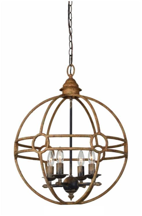 $272.00 McGraw 4-Lt Chandelier