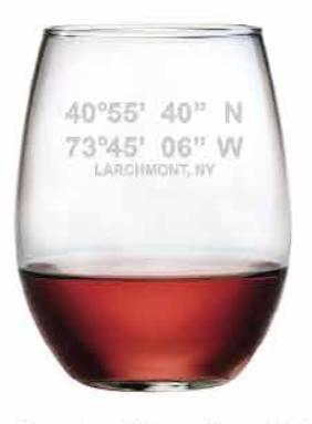 Latitude/Longitude Stemless Wine s/4 collection with 1 products