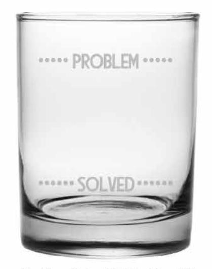 Problem Solved DOR, 14 oz, s/4 collection with 1 products