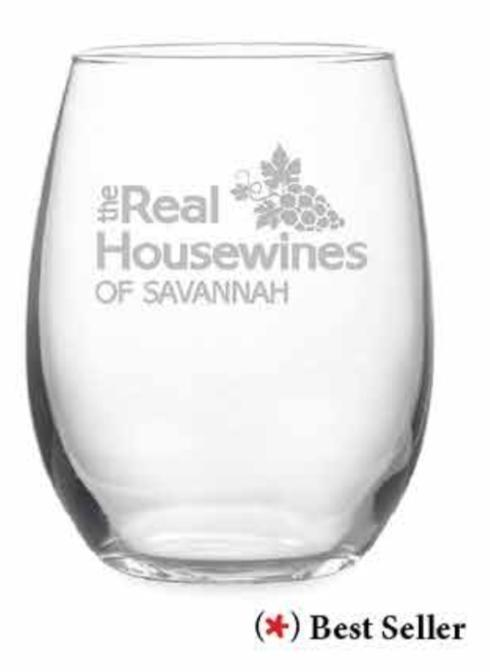 Real Housewives Personalized Stemless WIne s/4