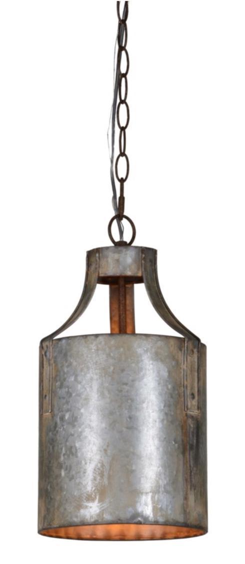 $108.00 Darcy 1-Lt Metal Pendant
