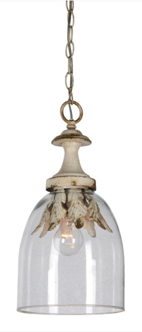 Camden 1-Lt Glass Pendant