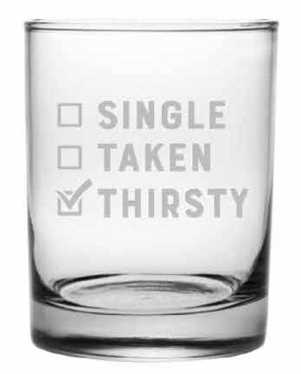 Single Taken Thirsty DOR, 14 oz, s/4 collection with 1 products