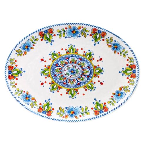 """Madrid White 16"""" Platter"""