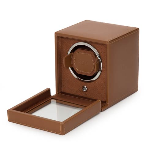 $259.00 Cognac Winder with Cover