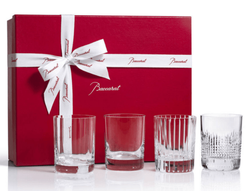 $490.00 Four Elements Double Old Fashion Tumblers S/4
