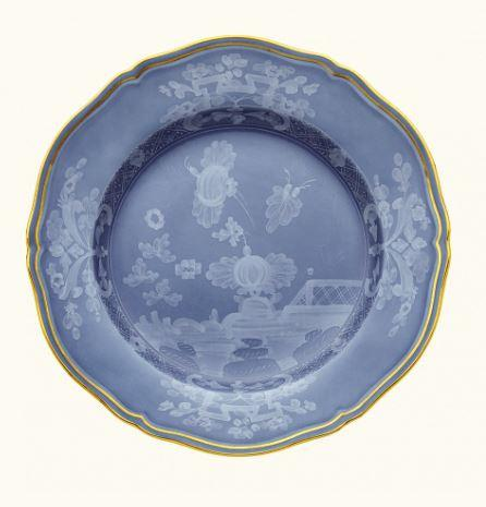 "Richard Ginori 1735    Oriente Italiano Flat Dinner Plate Pervinca - 10 1/2"" $125.00"