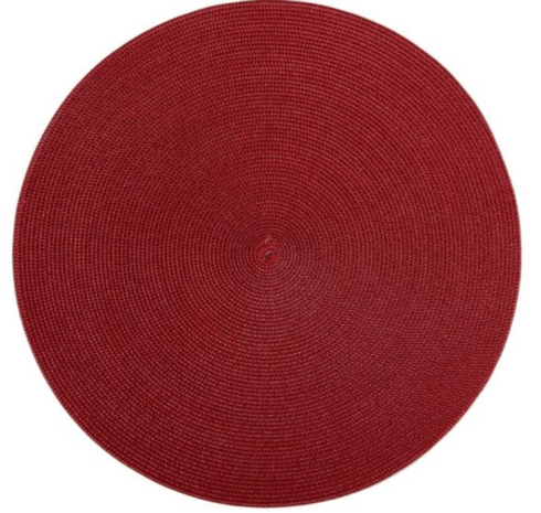 """$20.00 15"""" Round Placemat"""
