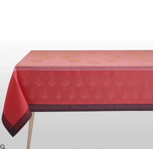 "$445.00 Le Jacquard Francais Tablecloth 69"" x 98"" Cabaret - Flamingo"