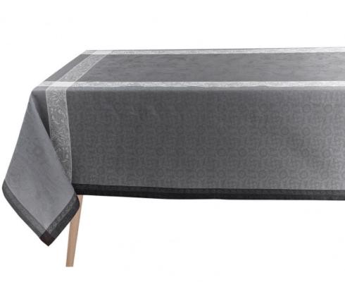 "$445.00 Le Jacquard Français Tablecloth 69"" x 98"" Ottomane Slate"