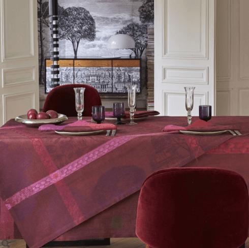 "$445.00 Le Jacquard Français Tablecloth 69"" x 98"" Symphonie Baroque - Opera"