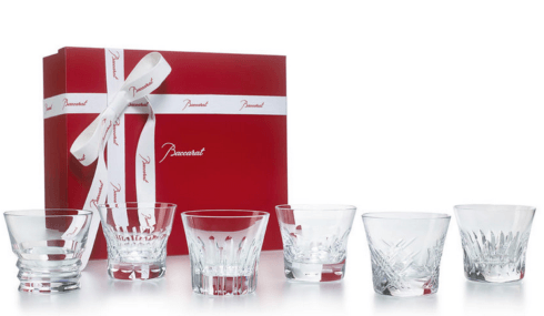 $470.00 Everyday Baccarat Old Fashion Tumblers S/6 (6.8oz)