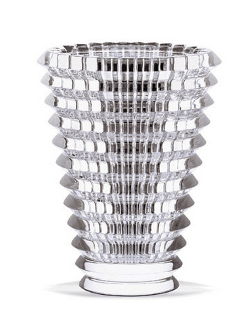 $450.00 Eye Vase Small Round - Clear