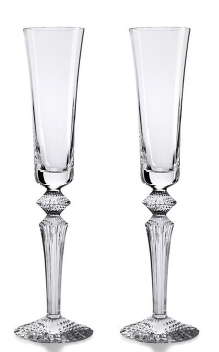 $520.00 Mille Nuits Flutissimo - Clear S/2 (5.7oz)