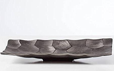 Linus Chiseled Brushed Rectangle Platter - Graphite collection with 1 products