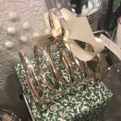 William-Wayne & Co. Exclusives   Hotel Plate Toast/Letter Rack $190.00