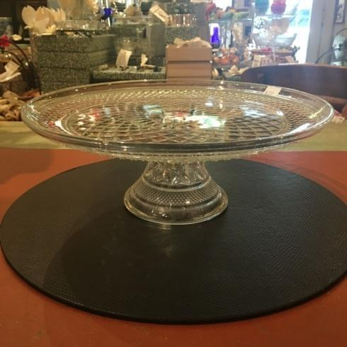 $250.00 Vintage Cut Glass Cake Stand