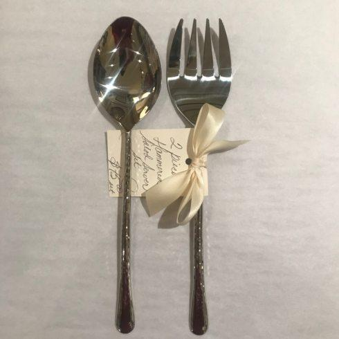 William-Wayne & Co. Exclusives   2pc. Hammered Salad Servers $75.00