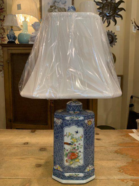 Blue and White Tea Jar Lamp collection with 1 products