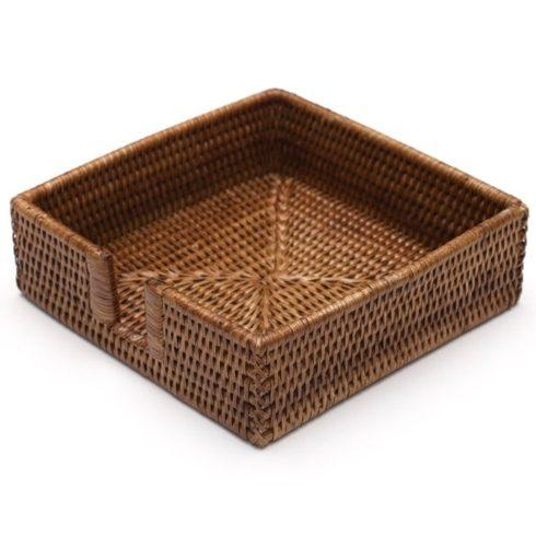 William-Wayne & Co. Exclusives   Rattan Cocktail Napkin Holder $30.00