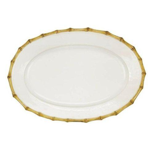 "$175.00 Oval 16"" Bamboo Platter by Juliska"