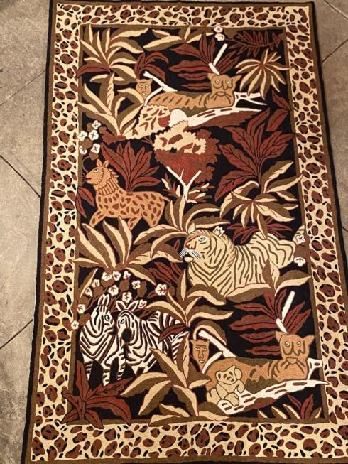 $275.00 Animal Kingdom Wool / Cotton Rug